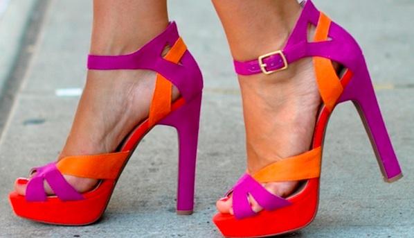 colorblock-sandals