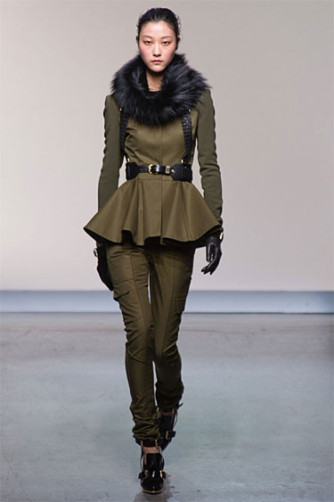Army Green Prabal Gurung