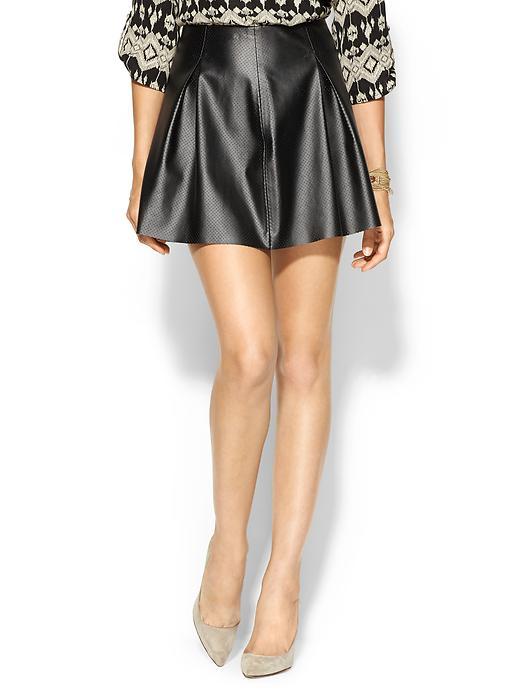 BGBG Vegan Leather Skirt