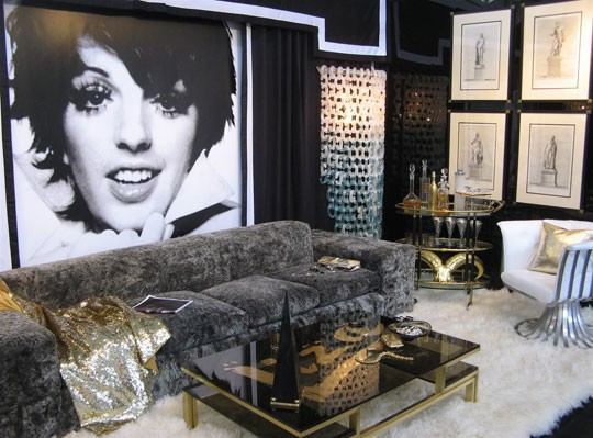 Hollywood glam and regency style cocoandcashmere for Hollywood glam living room ideas