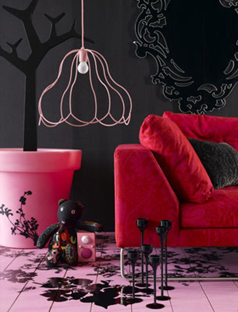 Living Room Interior Design Bright