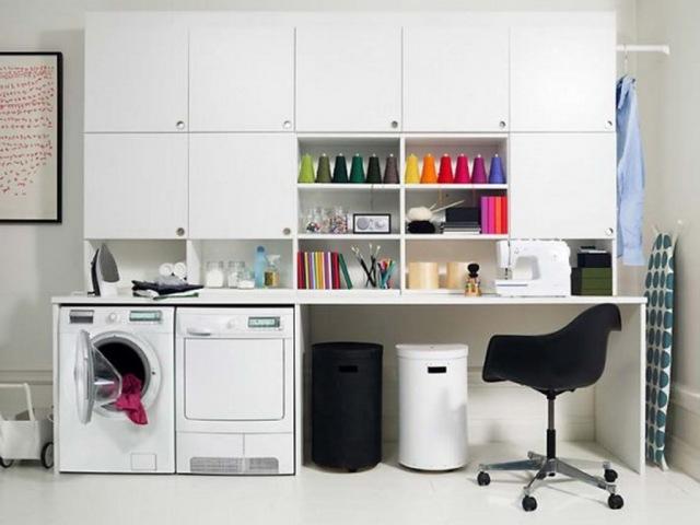 Excellent-Gorgeous-Laundry-Room-Storage-Design