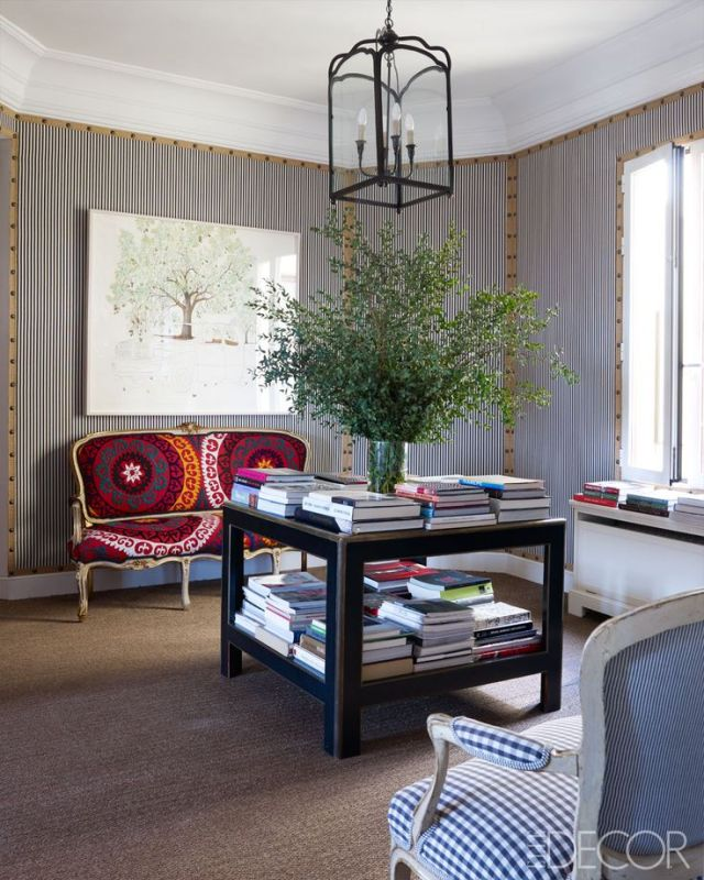 Carolina Herrera Baez's Madrid Home - ELLE DECOR