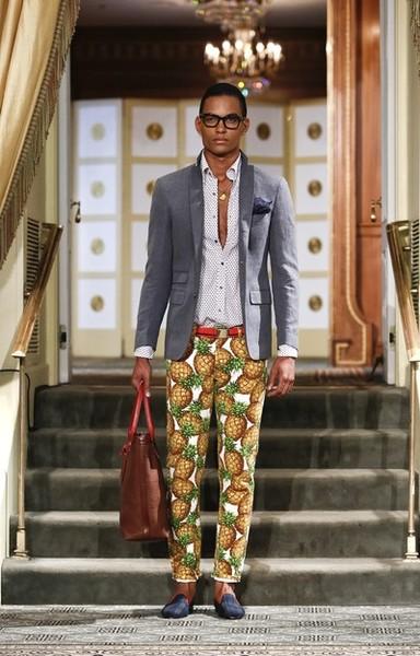 Michael Bastian - Runway - Mercedes-Benz Fashion Week Spring 2014