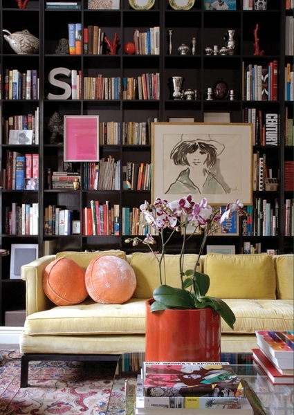 skona-hem-yellow-sofa via stylecarrot