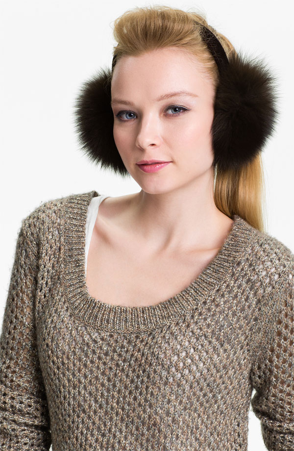 Fur Ear Muff Nordstrom