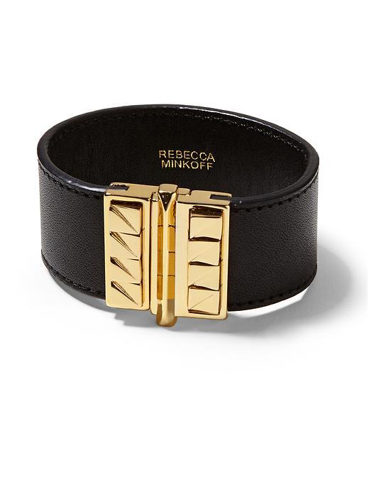 Rebecca minkoff Curbs Leather Cuff 78